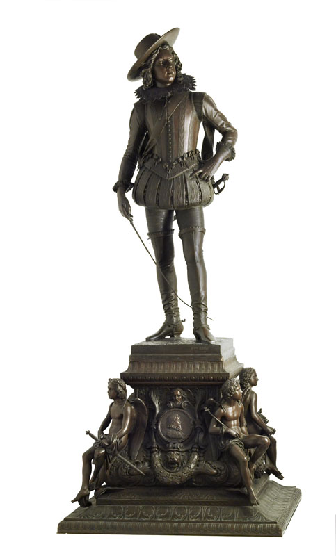 F. Rude, Louis XIII enfant, bronze, 1878