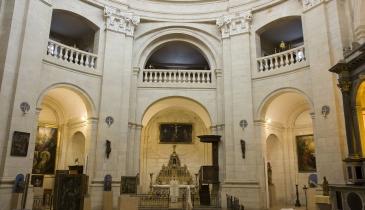 la rotonde du musée d'Art sacré